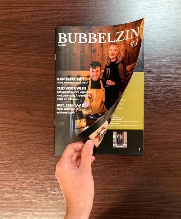 Menutijdschrift-Bubbelzin