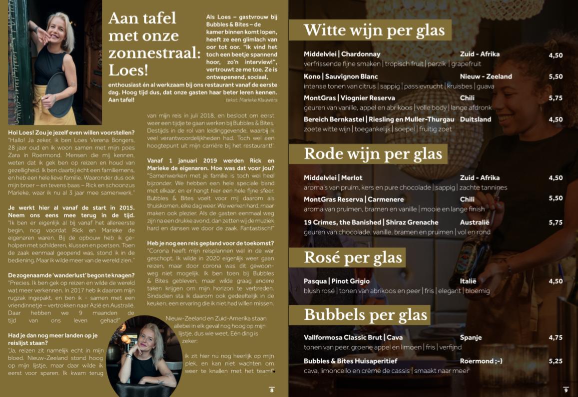 Bubbelzin-Menutijdschrift